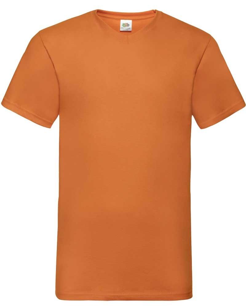 Tee-shirt homme coton Col V personnalisable - Nombreux coloris