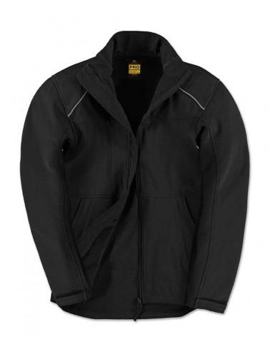 Veste Softshell Professionnelle avec renforts personnalisable