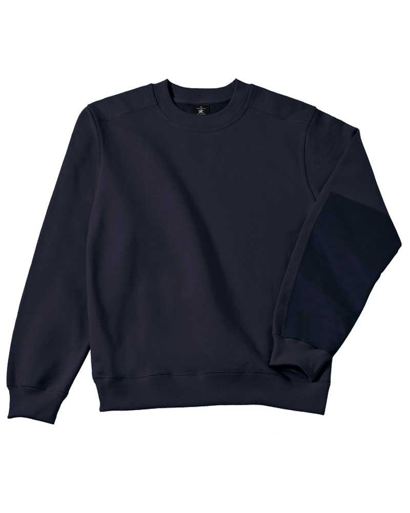 Sweat confortable et résistant avec renfort personnalisable - Bleu marine