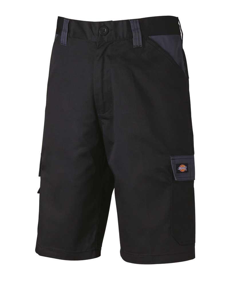 Short multipoches personnalisable homme Lavage 60° - Noir et Gris