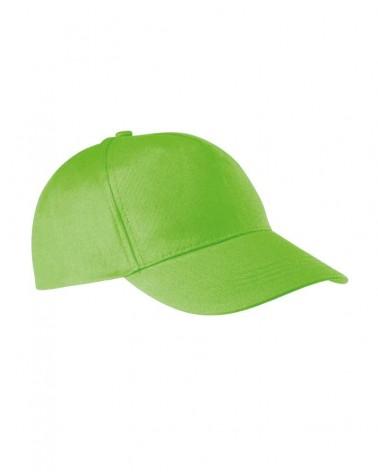 Casquette souple personnalisable - Vert citron