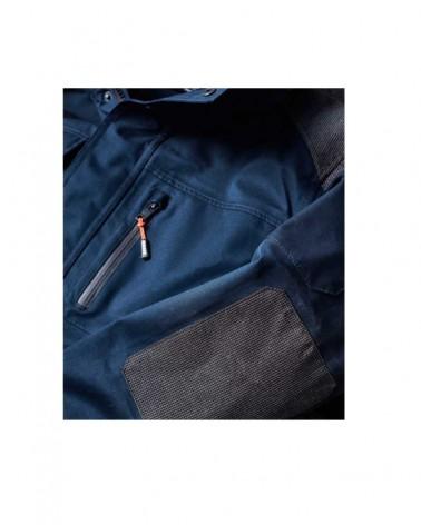 Veste de travail fonctionnelle personnalisable - Bleu marine