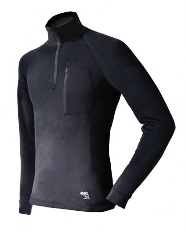 Polaire homme bi-stretch technique Polartec Powerstretch Pro