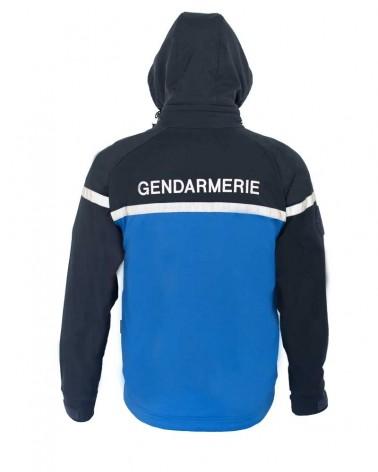 Veste avec capuche bi-color Gendarmerie