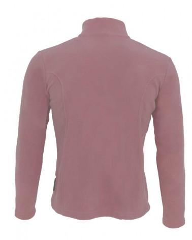 Veste, gilet zippé avec manches en couleur rose pour femmes