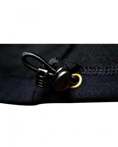 Veste noire polaire confortable et chaude Powerstretch Polartec