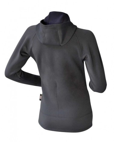 Veste à capuche polyvalente femme Polartec