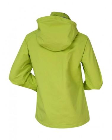 Veste coutures étanches pour femme vert chartreuse