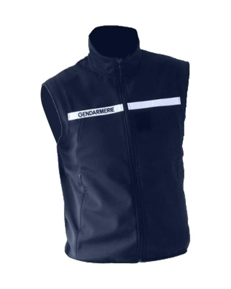Gilet softshell Gendarmerie