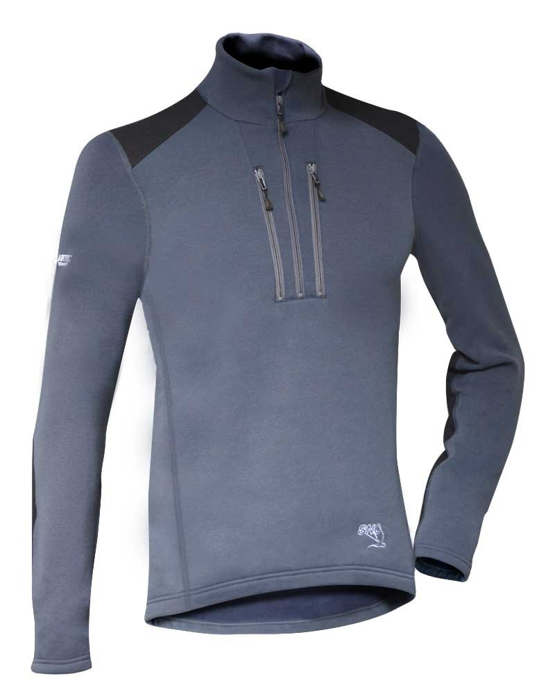 Pull haute performance Polartec Powerstretch respirant