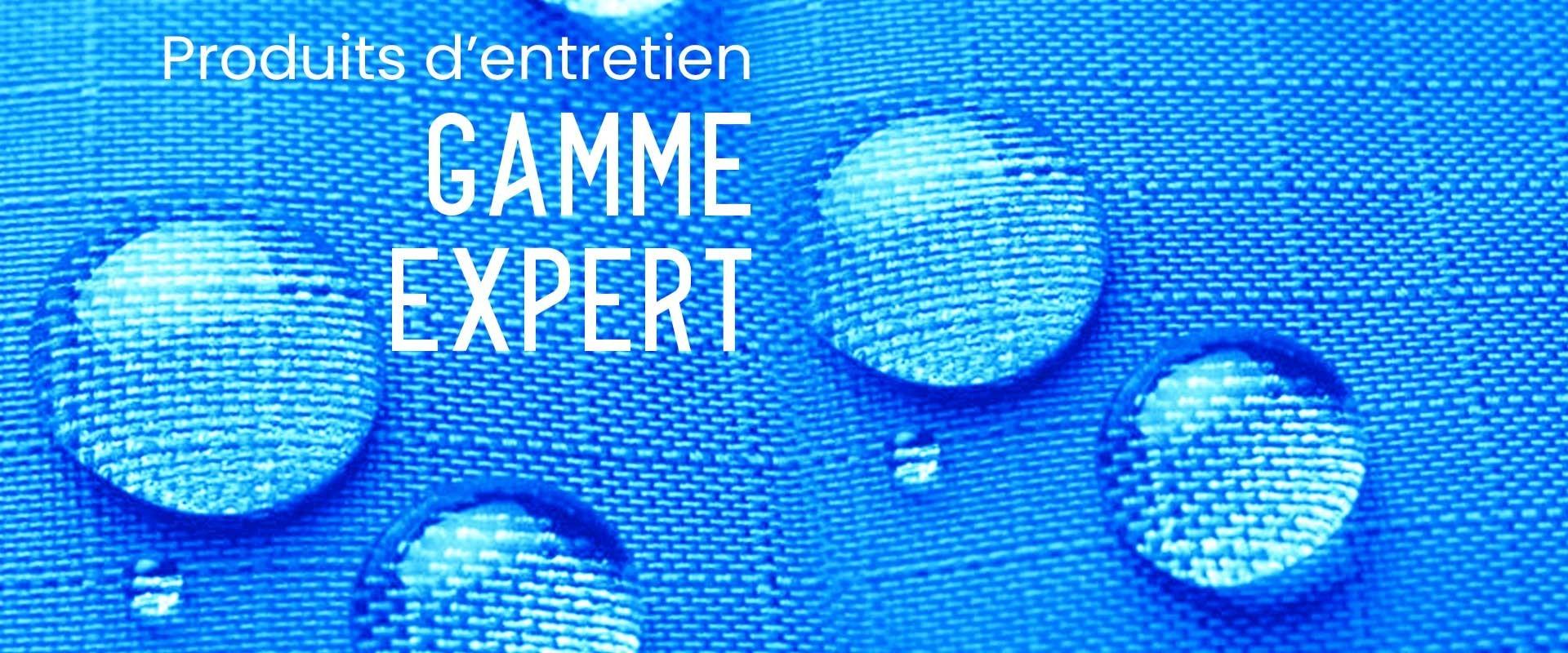 Produits d'entretien textile Gamme Expert